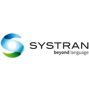 Logo unseres Partners Systran für maschinelle Übersetzung