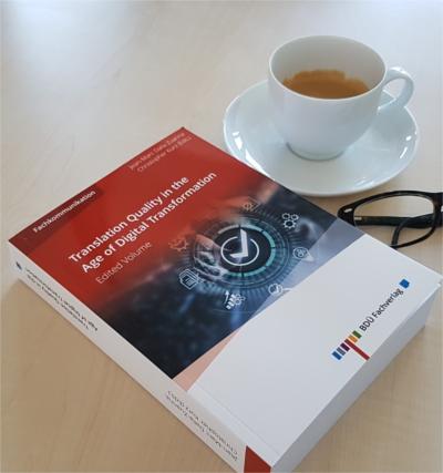 Veröffentlichung eines Fachbuches zum Thema Übersetzungsqualität des BDÜ