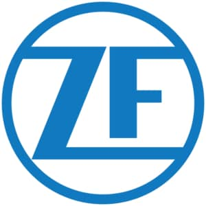 Logo der Firma ZF Friedrichshafen