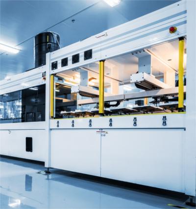 Übersetzunsgbüro Maschinenbau; Anlage zur Produktion von Solarpanels